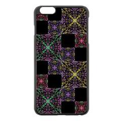 Ornate Boho Patchwork Apple Iphone 6 Plus/6s Plus Black Enamel Case by dflcprints