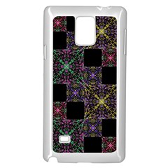 Ornate Boho Patchwork Samsung Galaxy Note 4 Case (white) by dflcprints