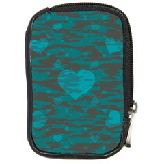 Camo Hearts Compact Camera Cases by TRENDYcouture