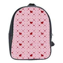 Heart Squares School Bags(large)  by TRENDYcouture