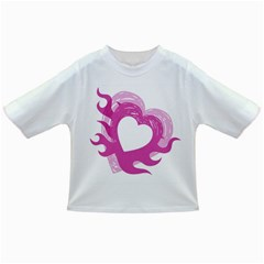 Hot Pink Love Infant/toddler T Shirts by TRENDYcouture