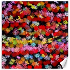 Colorful Brush Strokes                                             			canvas 12  X 12  by LalyLauraFLM