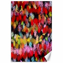 Colorful Brush Strokes                                             			canvas 24  X 36  by LalyLauraFLM