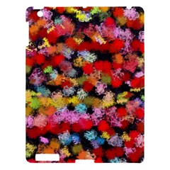 Colorful Brush Strokes                                             			apple Ipad 3/4 Hardshell Case by LalyLauraFLM