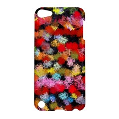 Colorful Brush Strokes                                             			apple Ipod Touch 5 Hardshell Case by LalyLauraFLM