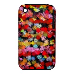 Colorful Brush Strokes                                             			apple Iphone 3g/3gs Hardshell Case (pc+silicone) by LalyLauraFLM