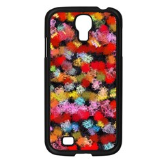 Colorful Brush Strokes                                             			samsung Galaxy S4 I9500/ I9505 Case (black) by LalyLauraFLM