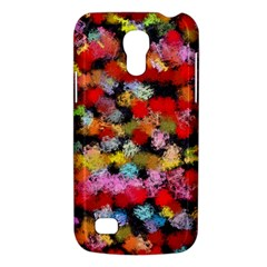 Colorful Brush Strokes                                             			samsung Galaxy S4 Mini (gt I9190) Hardshell Case by LalyLauraFLM