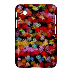 Colorful Brush Strokes                                             			samsung Galaxy Tab 2 (7 ) P3100 Hardshell Case by LalyLauraFLM