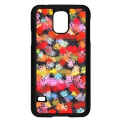 Colorful Brush Strokes                                             			samsung Galaxy S5 Case (black) by LalyLauraFLM