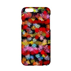 Colorful Brush Strokes                                             			apple Iphone 6/6s Hardshell Case by LalyLauraFLM