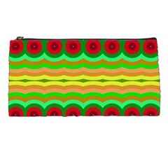 Circles And Waves                                              pencil Case by LalyLauraFLM