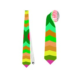 Circles And Waves                                              Necktie by LalyLauraFLM