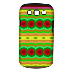 Circles And Waves                                              samsung Galaxy S Iii Classic Hardshell Case (pc+silicone) by LalyLauraFLM