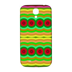 Circles And Waves                                              			samsung Galaxy S4 I9500/i9505 Hardshell Back Case by LalyLauraFLM