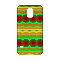 Circles And Waves                                              			samsung Galaxy S5 Hardshell Case by LalyLauraFLM