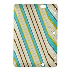 Bent Stripes                                               			kindle Fire Hdx 8 9  Hardshell Case by LalyLauraFLM