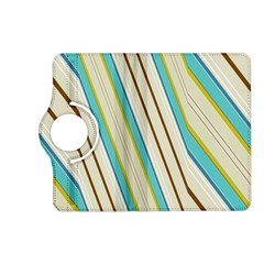 Bent Stripes                                               			kindle Fire Hd (2013) Flip 360 Case by LalyLauraFLM