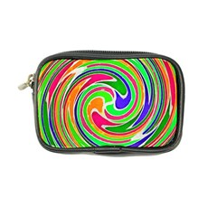 Colorful Whirlpool Watercolors                                                coin Purse by LalyLauraFLM