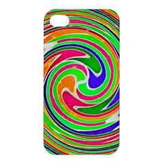 Colorful Whirlpool Watercolors                                                Apple Iphone 4/4s Hardshell Case by LalyLauraFLM
