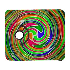 Colorful Whirlpool Watercolors                                                samsung Galaxy S Iii Flip 360 Case by LalyLauraFLM