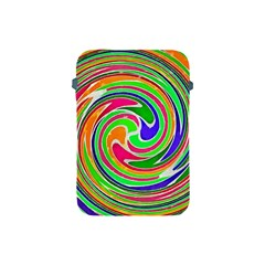 Colorful Whirlpool Watercolors                                                			apple Ipad Mini Protective Soft Case by LalyLauraFLM