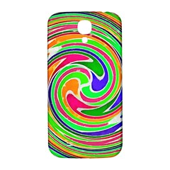 Colorful Whirlpool Watercolors                                                			samsung Galaxy S4 I9500/i9505 Hardshell Back Case by LalyLauraFLM