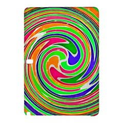 Colorful Whirlpool Watercolors                                                			samsung Galaxy Tab Pro 12 2 Hardshell Case by LalyLauraFLM