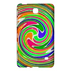 Colorful Whirlpool Watercolors                                                			samsung Galaxy Tab 4 (7 ) Hardshell Case by LalyLauraFLM