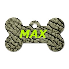 Max By Tina   Dog Tag Bone (two Sides)   25hd1ui7ldxe   Www Artscow Com Front