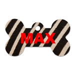 max2 - Dog Tag Bone (Two Sides)