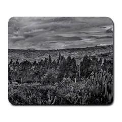 Ecuador Landscape Scene At Andes Range Large Mousepads by dflcprints