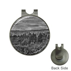 Ecuador Landscape Scene At Andes Range Hat Clips With Golf Markers by dflcprints