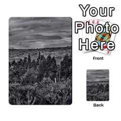 Ecuador Landscape Scene At Andes Range Multi Purpose Cards (rectangle)