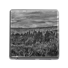 Ecuador Landscape Scene At Andes Range Memory Card Reader (square) by dflcprints