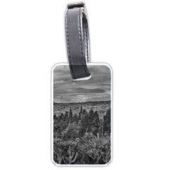 Ecuador Landscape Scene At Andes Range Luggage Tags (one Side)  by dflcprints