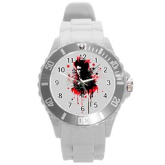 Bangarang Round Plastic Sport Watch (l) by lvbart