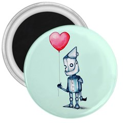 Tin Man 3  Magnets by lvbart