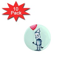 Tin Man 1  Mini Magnet (10 Pack)  by lvbart