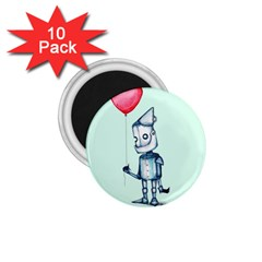Tin Man 1 75  Magnets (10 Pack)  by lvbart
