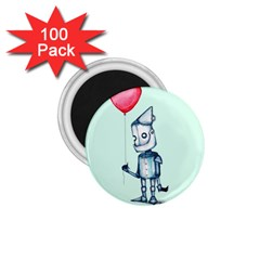 Tin Man 1 75  Magnets (100 Pack)  by lvbart