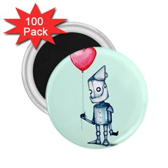 Tin Man 2 25  Magnets (100 Pack)  by lvbart