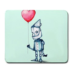Tin Man Large Mousepads by lvbart