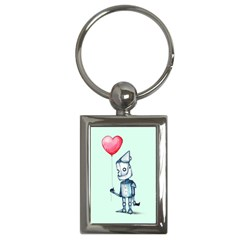 Tin Man Key Chains (rectangle)  by lvbart