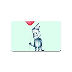 Tin Man Magnet (name Card) by lvbart