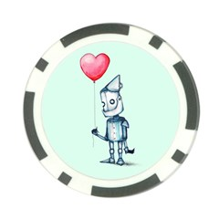 Tin Man Poker Chip Card Guards by lvbart