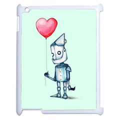 Tin Man Apple Ipad 2 Case (white) by lvbart