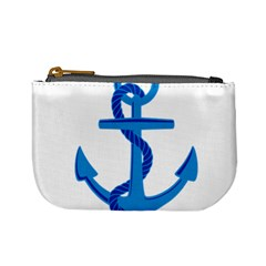 Blue Anchor Mini Coin Purses by TRENDYcouture