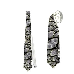 Silver Oriental Ornate  Neckties (one Side)