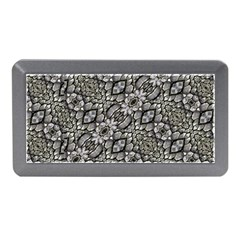 Silver Oriental Ornate  Memory Card Reader (mini) by dflcprints